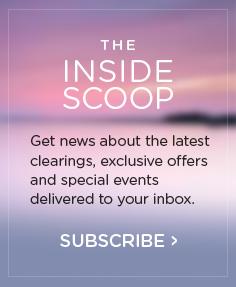inside scoop mailing list signup